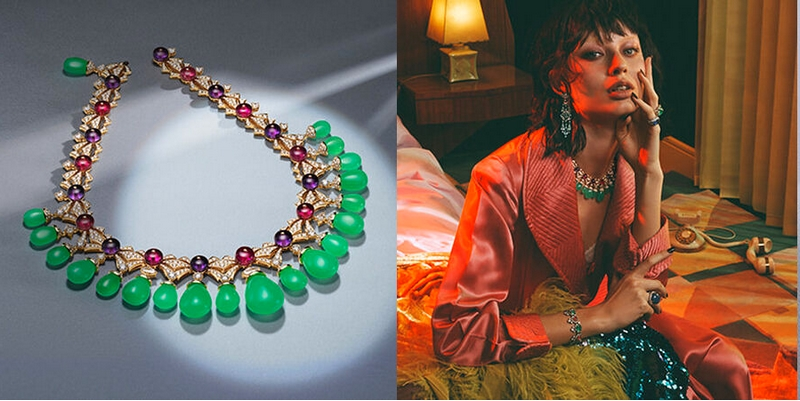 Bvlgari Cinemagia - Charming Sirens necklace takes you to a Mediterranean heaven