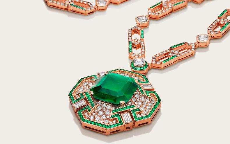 Bvlgari Cinemagia Emerald Affair Necklace