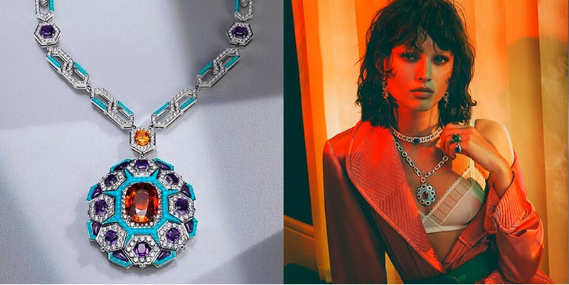 Bvlgari Cinemagia - The Night at the Casino necklace