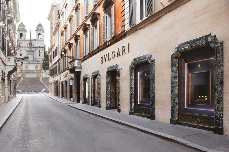 Bvlgari Rome SpanishSteps