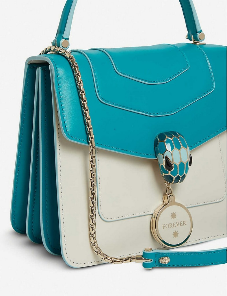 Bvlgari Serpenti Forever leather shoulder bag Exclusive to Selfridges