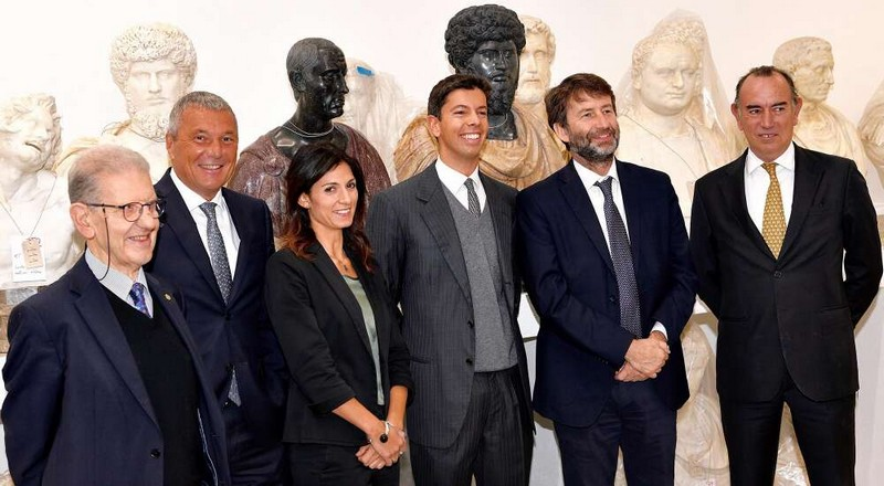 Bvlgari contributes to restoration of 96 ancient marble statues from the Torlonia Collection