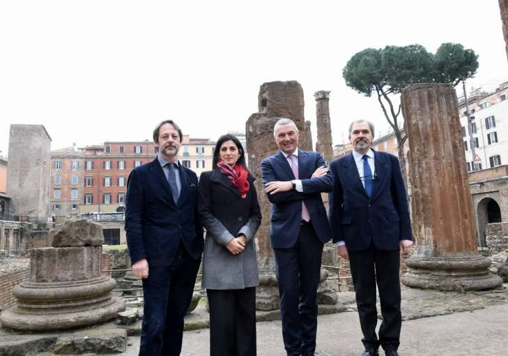 Bvlgari renews support for preservation of Rome's cultural heritage with project to restore Area Sacra di Largo Argentina archeological site