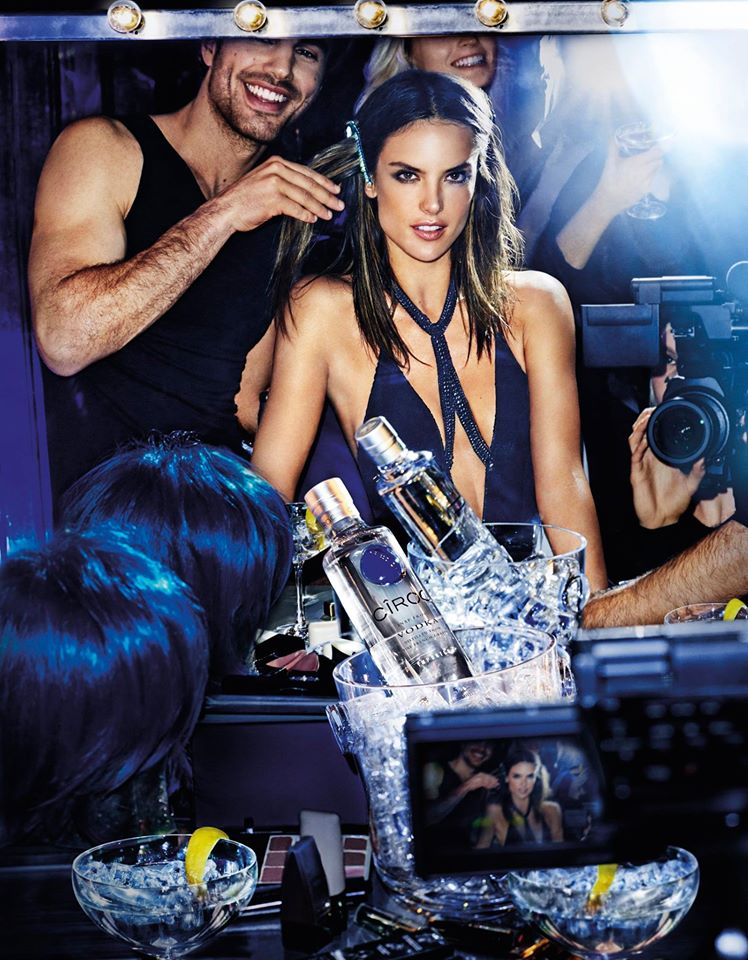 CÎROC Vodka celebrates Alessandra Ambrosio's most dazzling #OnArrival moments