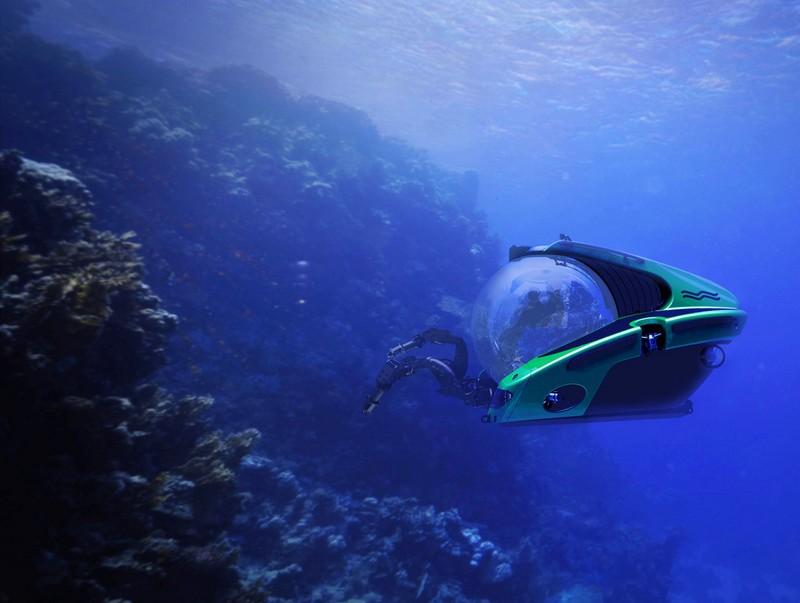 C-Researcher 3-1100 private submarine-