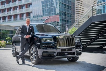 Rolls-Royce Motor Cars' new Luxury SUV Makes Major Contribution to Historic Record Result