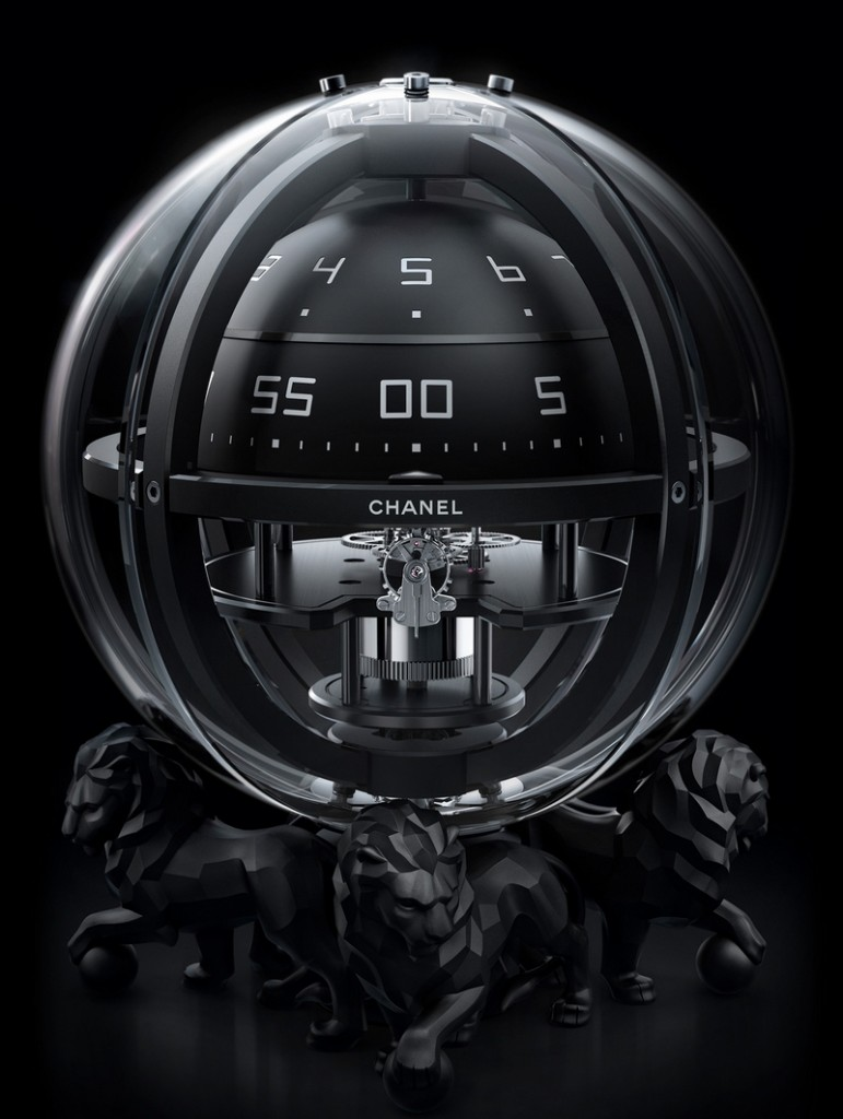 CHANEL CHRONOSPHERE CLOCK