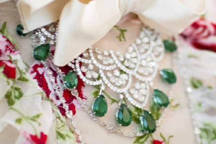 Giambattista Valli Haute Couture gown and Chopard haute joaillerie jewels are a match made in heaven