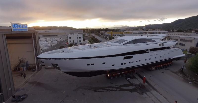 CNN Elsea 50m yacht