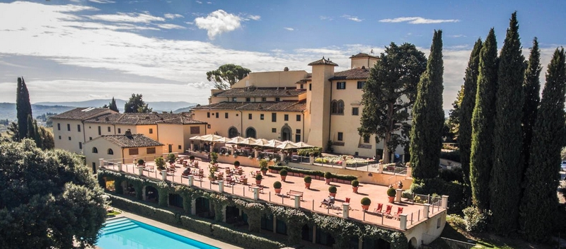 COMO Castello Del Nero, Tuscany- Panoramic View