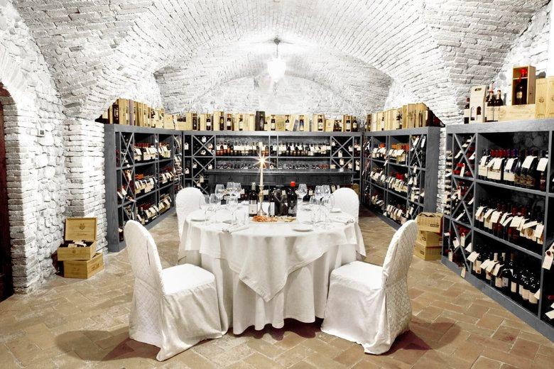 COMO Castello Del Nero, Tuscany- Wine Cellar
