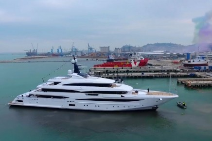 M/Y Cloud 9, CRN Yacht's latest jewel, successfully delivered