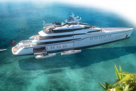 CRN x Harrison Eidsgaard 86m Explorer Yacht is conceived for an Owner used to enjoy long voyages