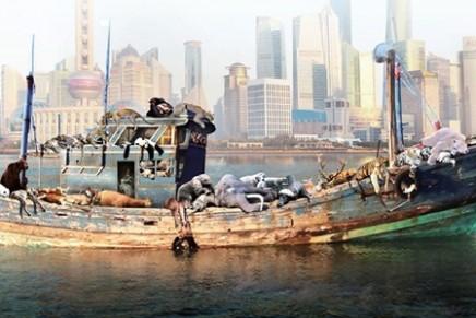 China's environmental woes inspire art