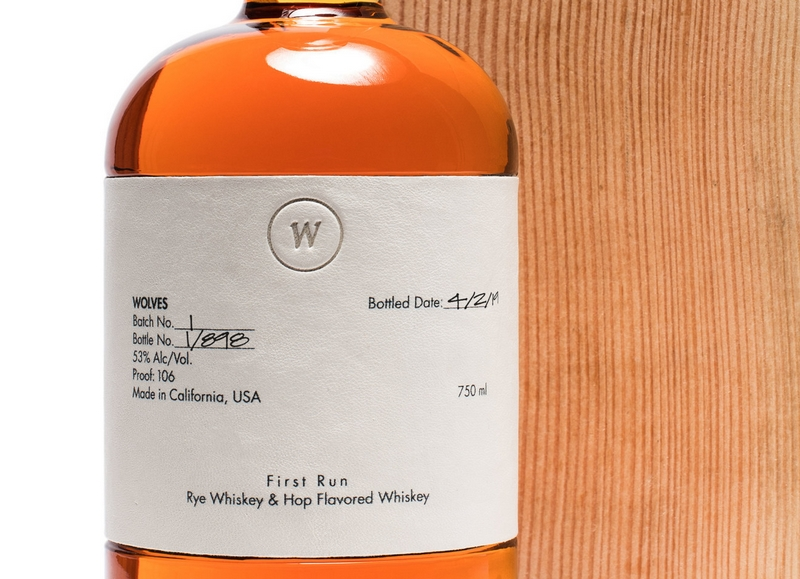 California's first luxury whiskey brand, Wolves Whiskey-