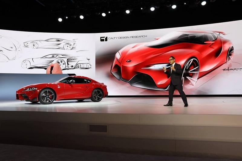 Calty Design NAIAS 2019-Toyota debuts 2020 Supra