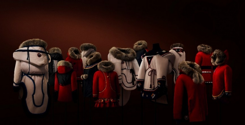 Canada Goose launches Project Atigi, an exclusive parka collection created by Inuit 14 seamstresses.