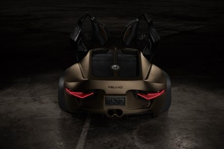 Ultra-sporty Canadian-made supercar Felino cB7R presented at 2020 Canadian Auto Show
