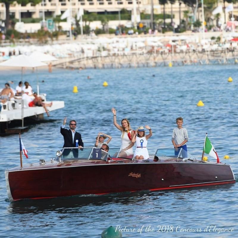 Cannes Yachting Festival Concours d'Elegance Vieux Port de Cannes.
