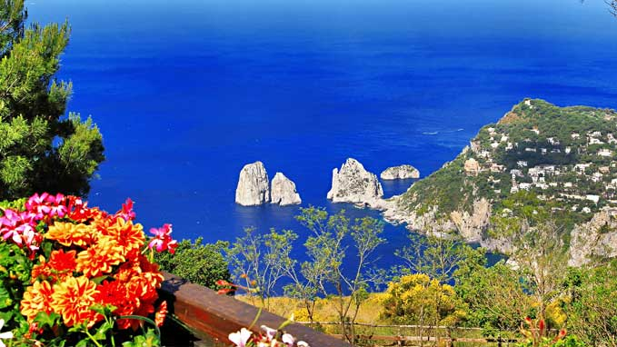 Capri Island View -