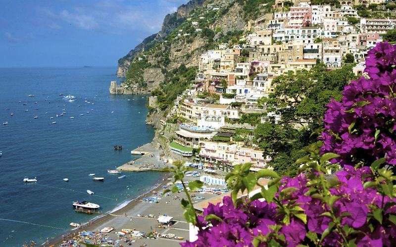 Capri Island View