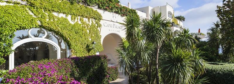 Capri Palace Italy Facade