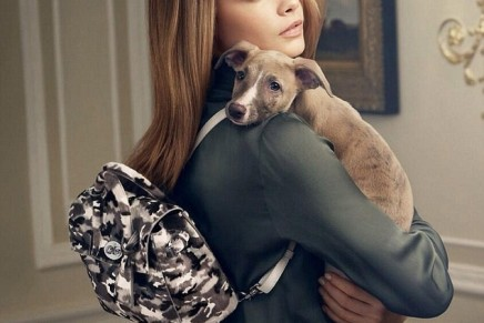 Functional beauty: Cara Delevingne makes her Mulberry