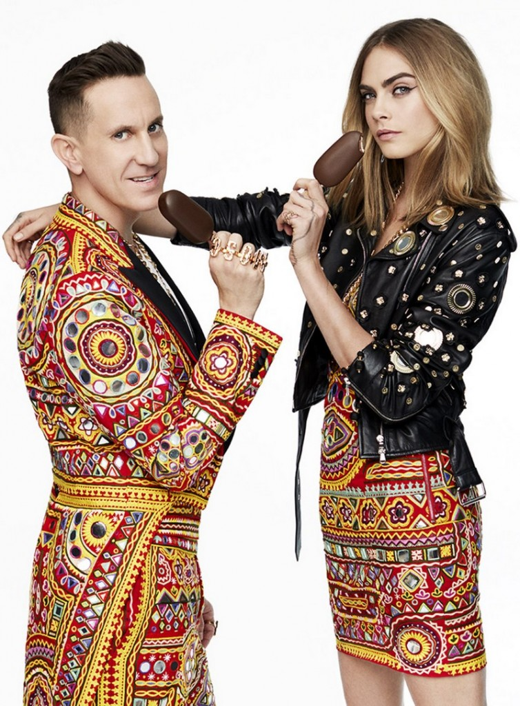 Cara Delevingne and Moschino's Jeremy Scott Unleash their Wild Side