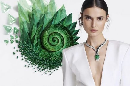 It is nature that sets the tone of Surnaturel, the new kaleidoscopic Cartier High Jewelry