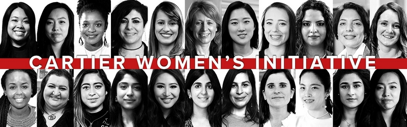 Cartier Women Iniatitive 2019 Laureates
