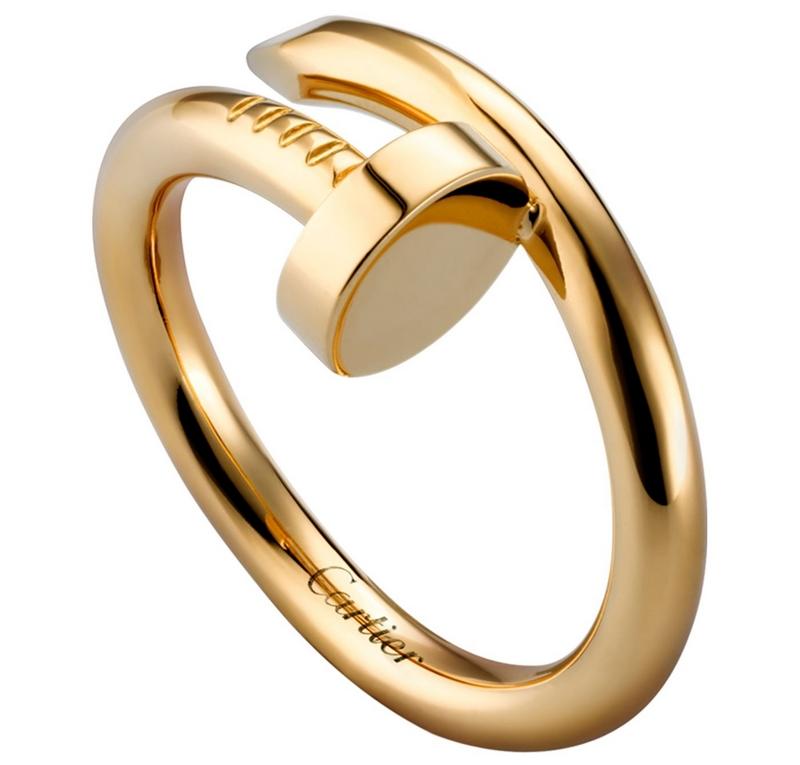 Cartier Yellow Gold Juste un Clou Ring