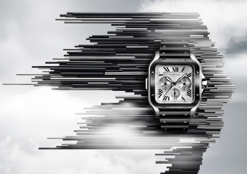Cartier is Introducing the Santos-Dumont version at the SIHH 2019--