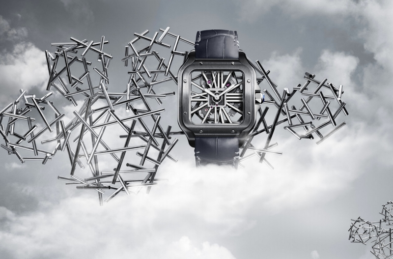 Cartier is Introducing the Santos-Dumont version at the SIHH 2019-01