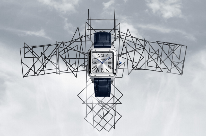 Cartier is Introducing the Santos-Dumont version at the SIHH 2019