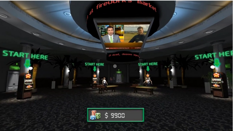 Casino VR Video Demo - AppReal-VR