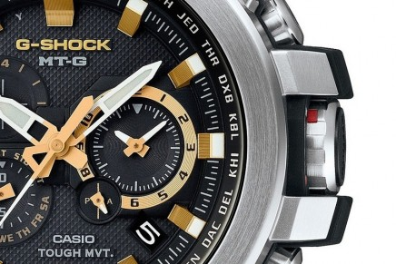 G-Shock's New Addition To Men's Luxury MT-G Line – an update on the timeless mixed-metal look