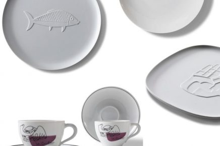The taste of shape: Cassina tableware by Le Corbusier x Richard Ginori