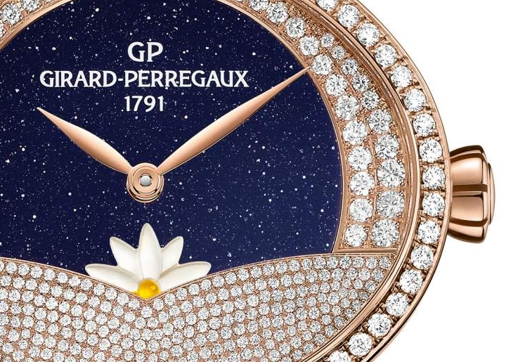 Cat's Eye Arabian Jasmin by Girard-Perregaux with complementary Day x Night complications-