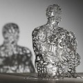 Catalan sculptor Jaume Plensa for Ruinart house