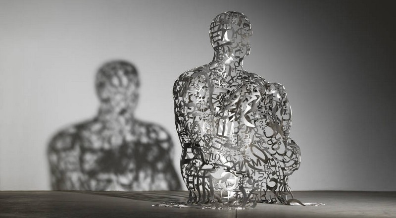 Catalan sculptor Jaume Plensa for Ruinart house