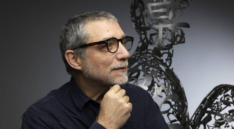 Catalan sculptor Jaume Plensa for Ruinart maison
