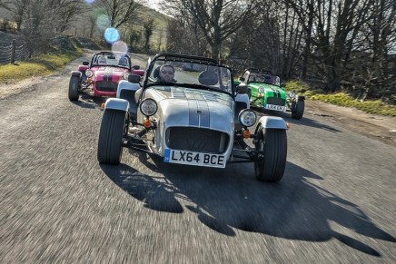 A Caterham retro race car for every driving enthusiast