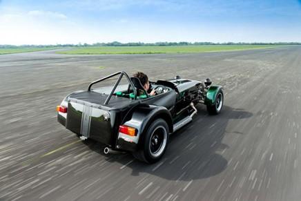 Kamui Kobayashi edition Caterham Seven for Japanese fans
