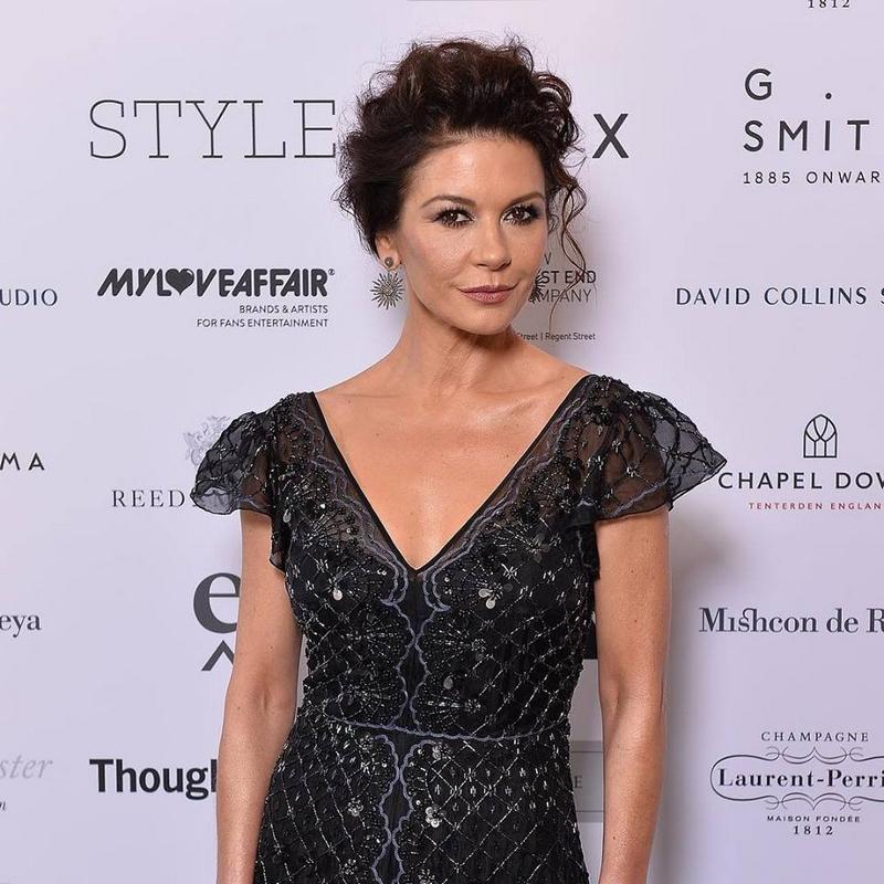 Catherine Zeta-Jones for Walpole Awards 2018