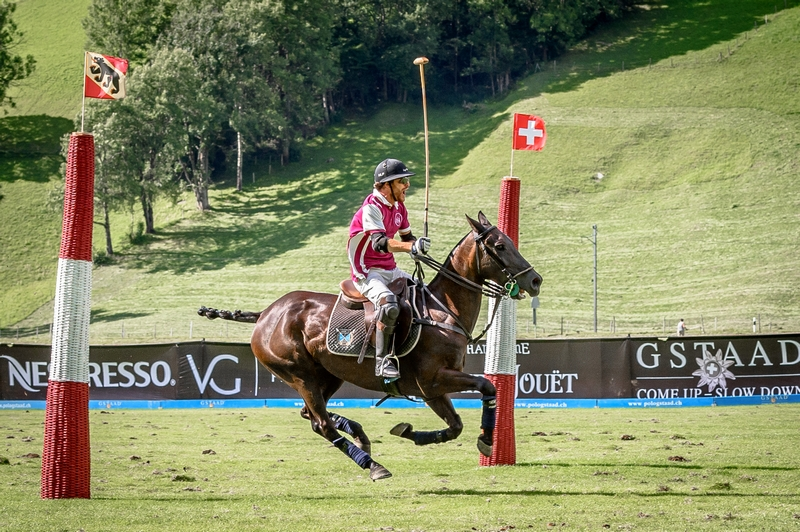 Cedric Schweri and his Team BANQUE ERIC STURDZA won the 22nd Hublot Polo Gold Cup in Gstaad