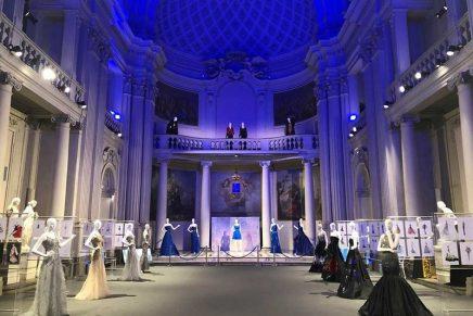 Celeblueation by Renato Balestra at the Fondazione Franco Zeffirelli