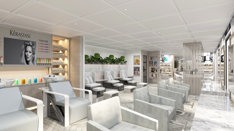 Celebrity Cruises will be partnering with Kérastase to create the ultimate salon experience at The Spa