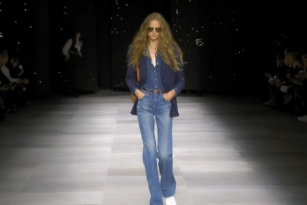 Hedi Slimane nods to the 70s with latest Celine collection