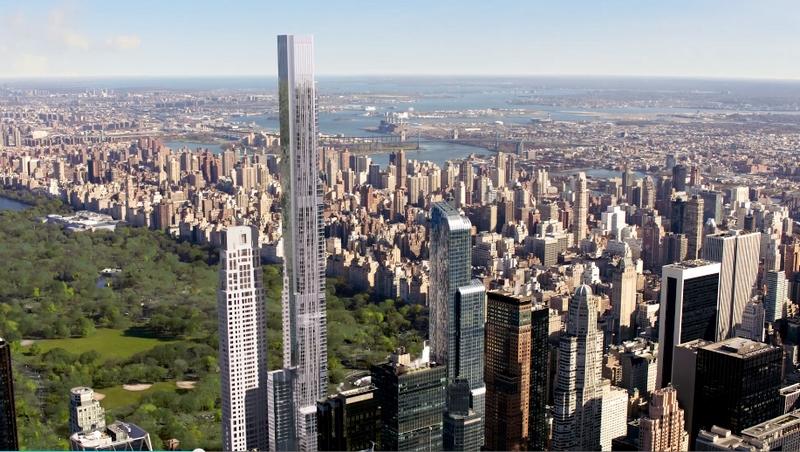 Central Park Tower, Tallest Residential Building In The World-views-