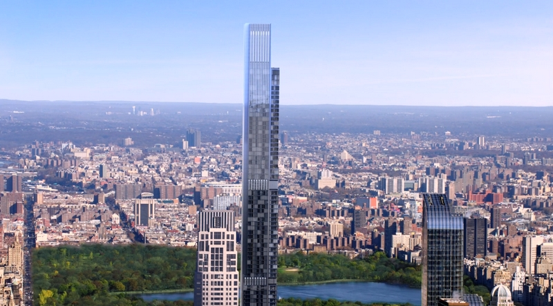 Central Park Tower, Tallest Residential Building In The World-views